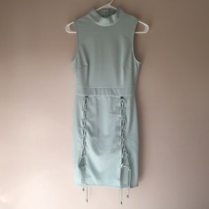 Mint Fitted Dress
